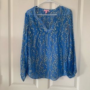 Lilly Pulitzer popover top